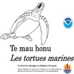 1. Photo Livret de coloriage sur tortues marines - français et tahitien