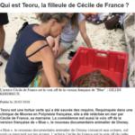 3. Photo_ 28 mars 2018 - Ouest France - Qui est Teoru, la filleule de Cécile de France