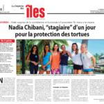 02. Photo - 21 août 2017 - La dépêche de Tahiti - Stagiaire Nadia chibani