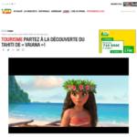 03. PHOTO - 30 novembre 2016 VSD - TOURISME Partez à la découverte du Tahiti de Vaiana