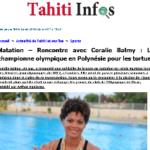 03. Photo - 24 octobre 2017 - Tahiti Infos Coralie_Balmy_en_Polynesie_pour_proteger_les_tortues