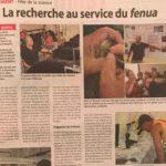Coupé pour site presse 2019-10-07 La Dépêche de Tahiti - fête de la Science 2019 - IFREMER