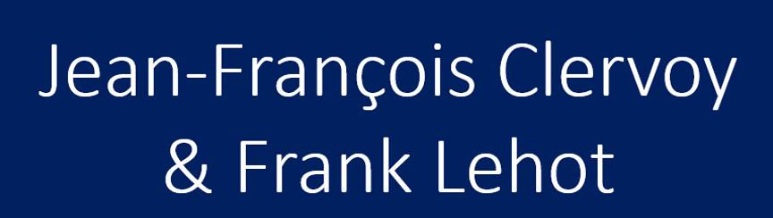 Jean-François Clervoy & Frank Lehot