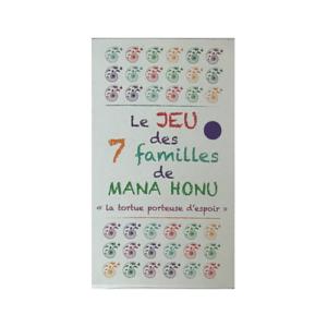 Jeu des 7 familles MANA HONU - carré