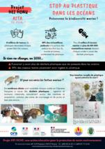 Affiche HEI HONU - Impact sur la biodiversité marine